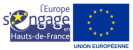 Logo Europe s'engage en Hauts-de-France